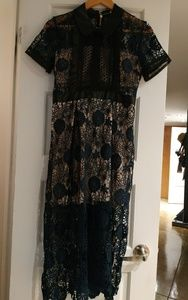 Dresses & Skirts - Lace/Embroidery Dress BNWT